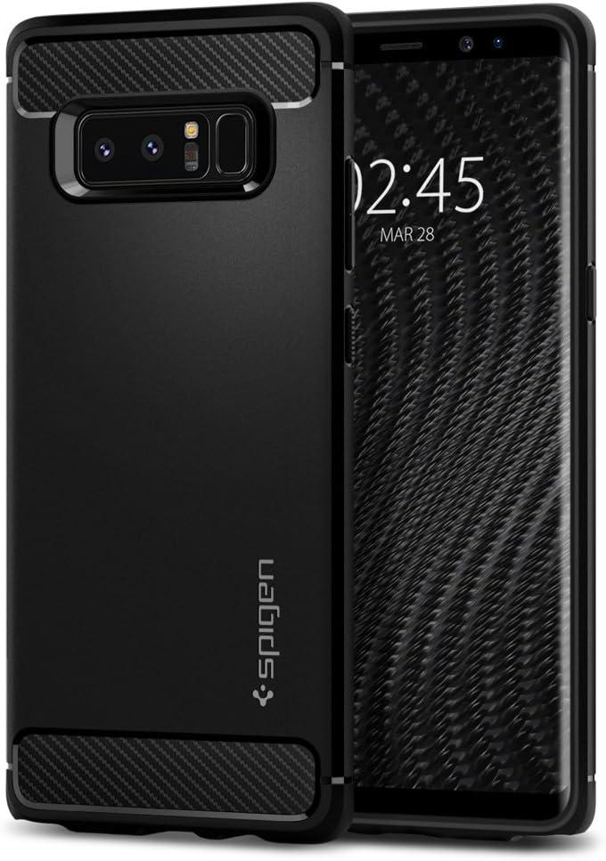 Spigen Rugged Armor Designed for Samsung Galaxy Note 8 Case (2017) - Matte Black