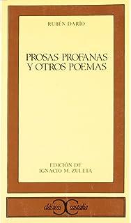 Prosas profanas y otros poemas (CLASICOS CASTALIA. C/C.)