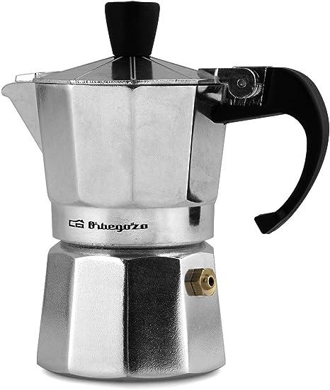 Orbegozo KF 600 600-Cafetera de Aluminio, 6 Tazas: Amazon.es: Hogar