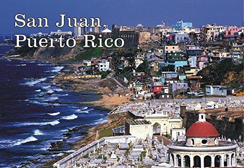- San Juan, Puerto Rico, Beach, Skyline, Souvenir Magnet 2 x 3 Photo Fridge Magnet