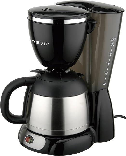 Nevir NVR 1130TCM Cafetera goteo, 12 tazas, termo, 14 Cups: Amazon ...