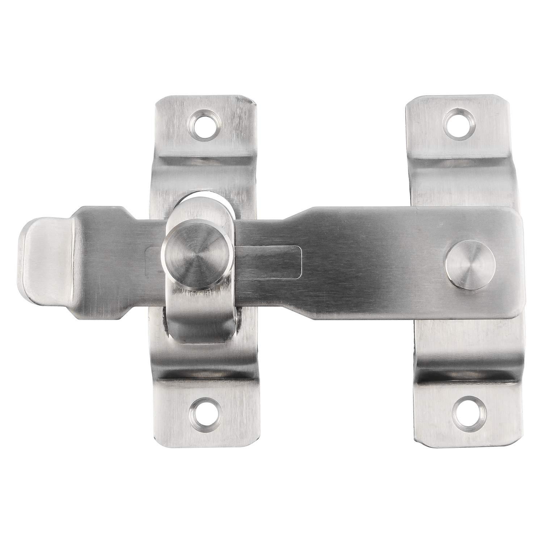 Douper Heavy Duty Stainless Steel Flip Latch Door Lock 4-3//10 Overall Length