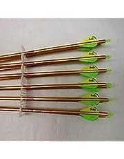Easton Genesis V2 Arrow (Pack of 6), 1820, Green
