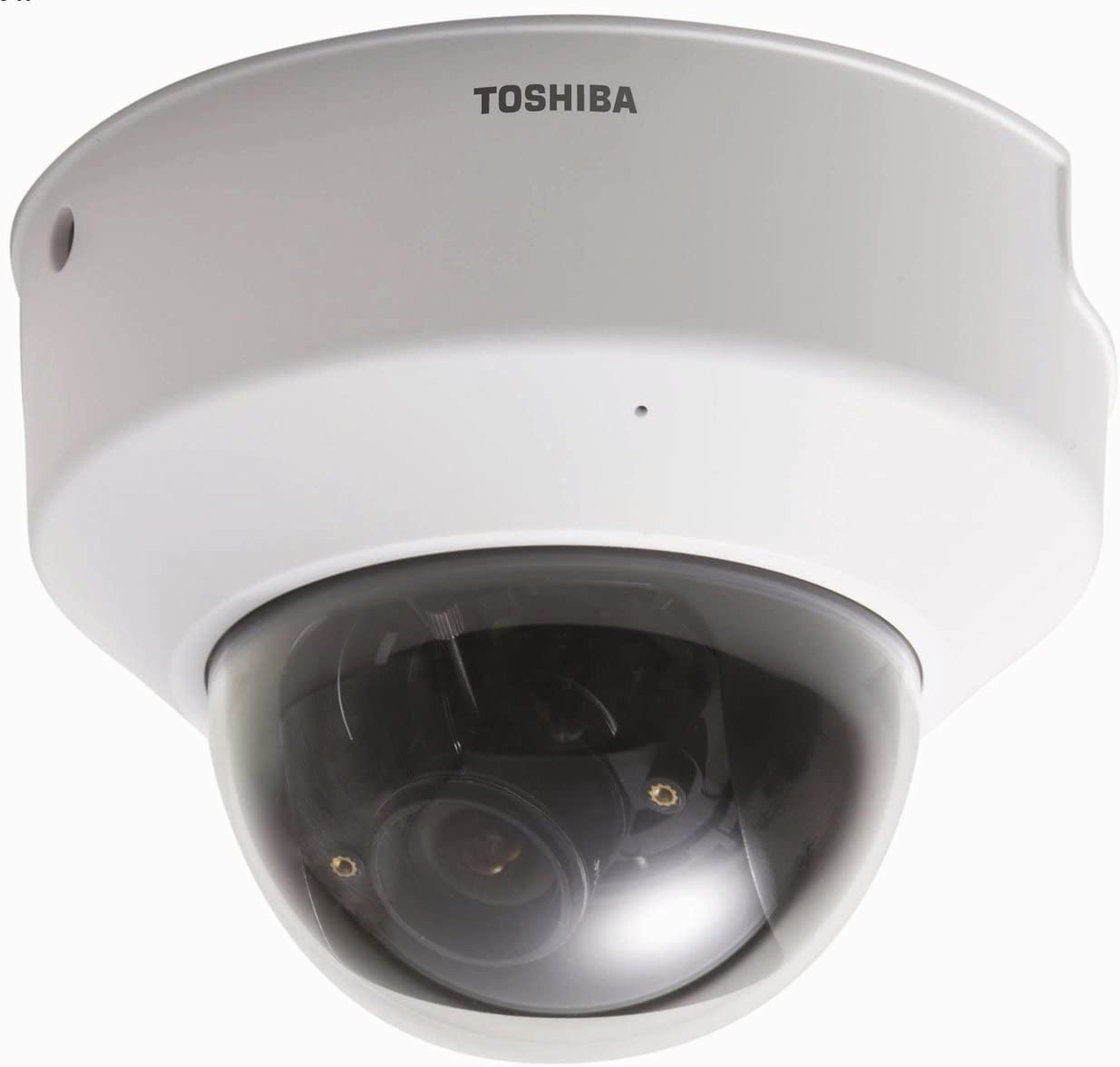 Toshiba IK-WD01A IP Network Mini-dome Camera, PoE, 640×480, 2-4mm Lens