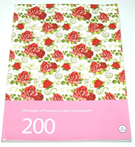 Flower Pattern Style Note book writing pad A5 size WhqSN12WW8