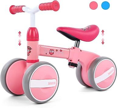 Peradix Bicicleta Sin Pedales para Niños y Niñas Bici Bebe,Bicicletas Bebe sin Pedales,Bicicleta Bebe 1 año,Bicicleta Bebe 1 año Pedales de Forma Favorito del Niño: Amazon.es: Juguetes y juegos