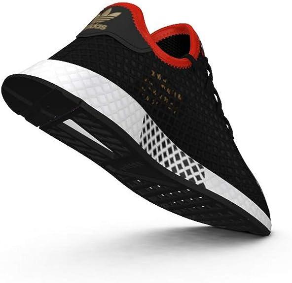 adidas B41876 Deerupt Runner Junior Sneaker Schwarz: Amazon