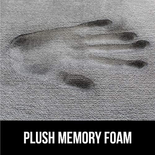 Gorilla Grip Original Thick Memory Foam Bath Rug (30x20) Cushioned, Soft Floor Mats, Absorbent Kids Bathroom Mat Rugs, Machine Wash + Dry, Luxury Plush Comfortable Carpet for Bath Room (Light Blue) by Gorilla Grip (Image #2)