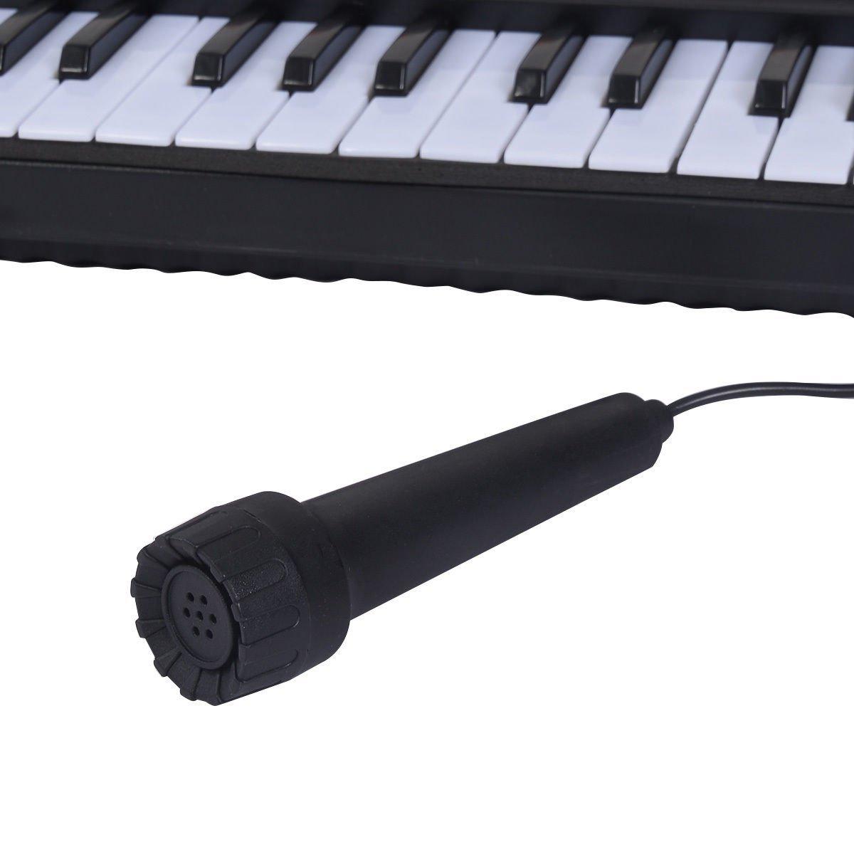 Mascarello® 54 Keys Music Electronic Keyboard Kid Electric Piano Organ W/Mic & Adapter by Mascarello (Image #6)
