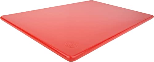 Commercial Plastic Red Cutting Board