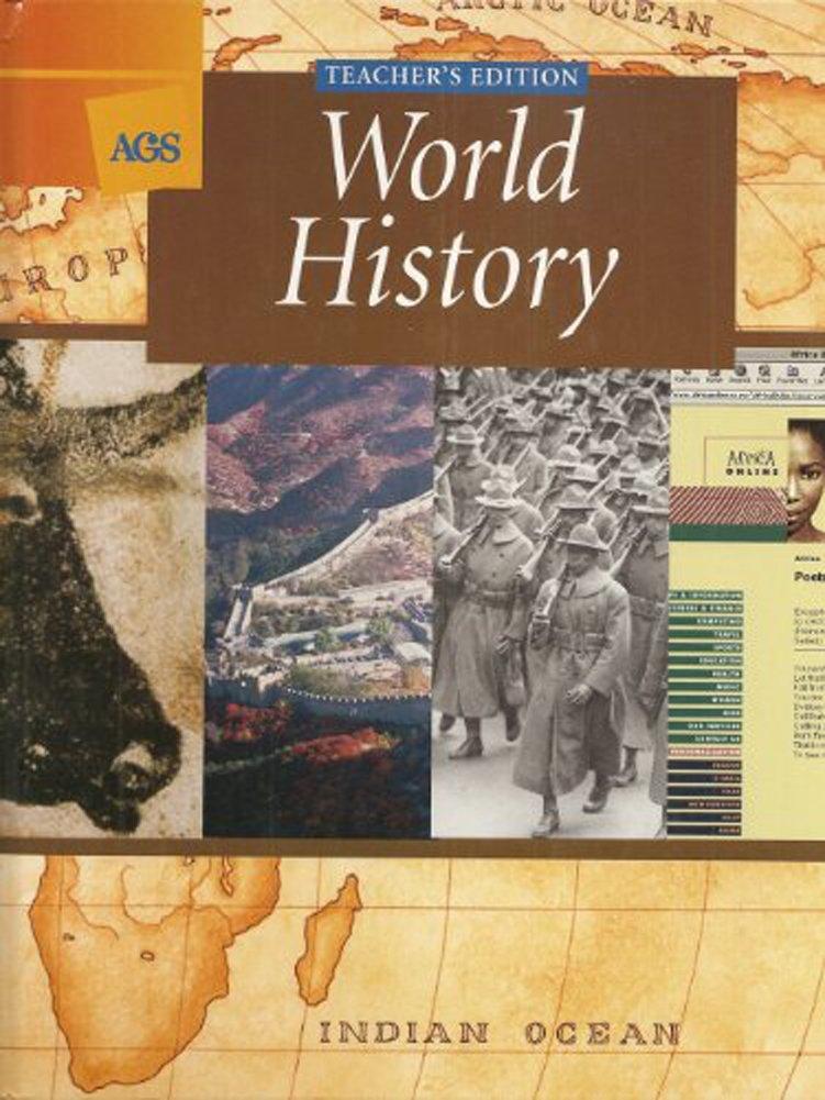 AGS World History (Teacher's Edition): Wayne E  King, Marcel