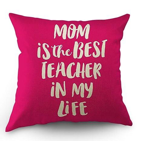 Papá Mamá Cita Funda de almohada La madre es la mejor ...