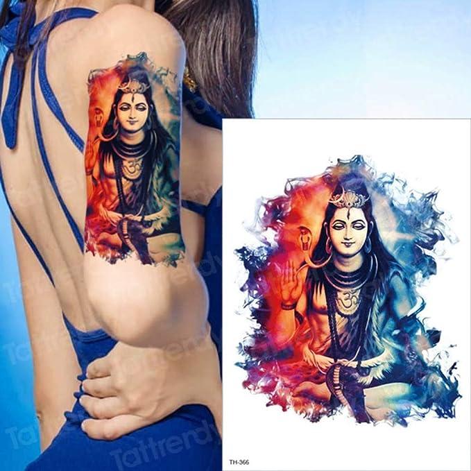 3ps-Impermeable Tatuaje Hombre Tatuaje Bosque Lobo Tatuaje Negro ...