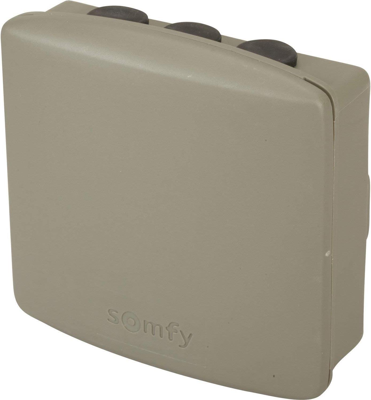 Somfy 2400556 - Receptor Portal/Puerta de Garaje Exterior Universal | tecnología RTS