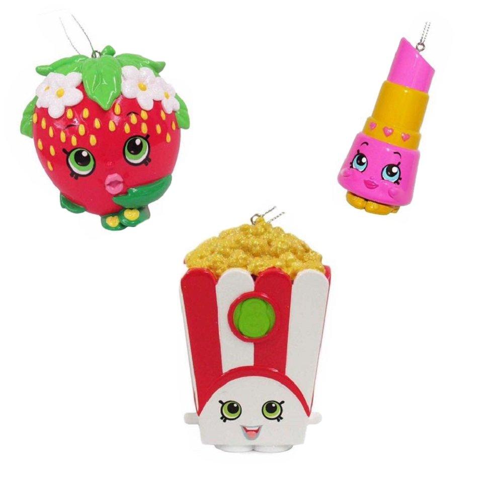 Amazon.com: Shopkins Christmas Ornament Bundle- Lippy Lips ...