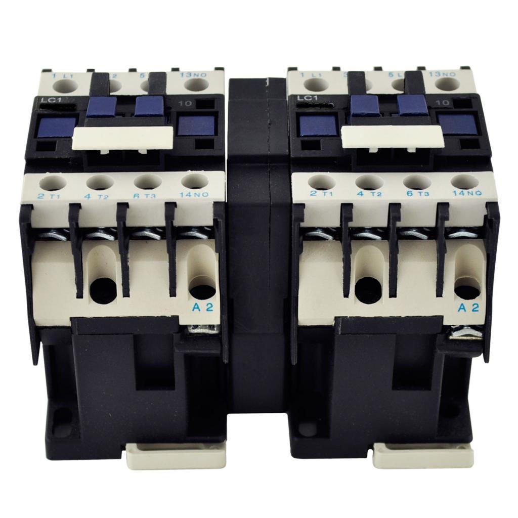 TELEMECANIQUE LC2-D09 AC Contactor LC2D09 LC2D0910-Q6 380V Coil 3 Phase 3 Pole 12 Amp Direct Replacement
