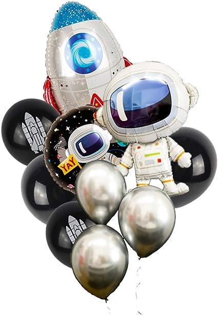 Amazon.com: 10 globos de fiesta espacial, para el primer ...