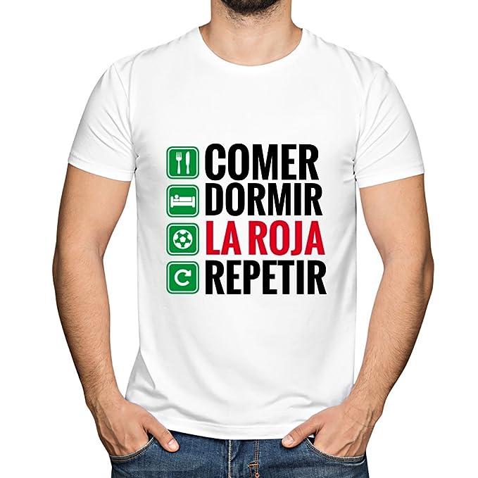 Camiseta personalizada Comer, Dormir, tu equipo y Repetir ...