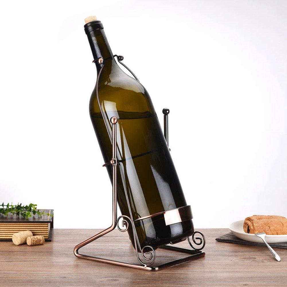 Countertop wine glass holder,Metal wine cup rack stemware glass storage organizer freestanding wine cup display stand -B 3L (L8W7.5H15.7inch)