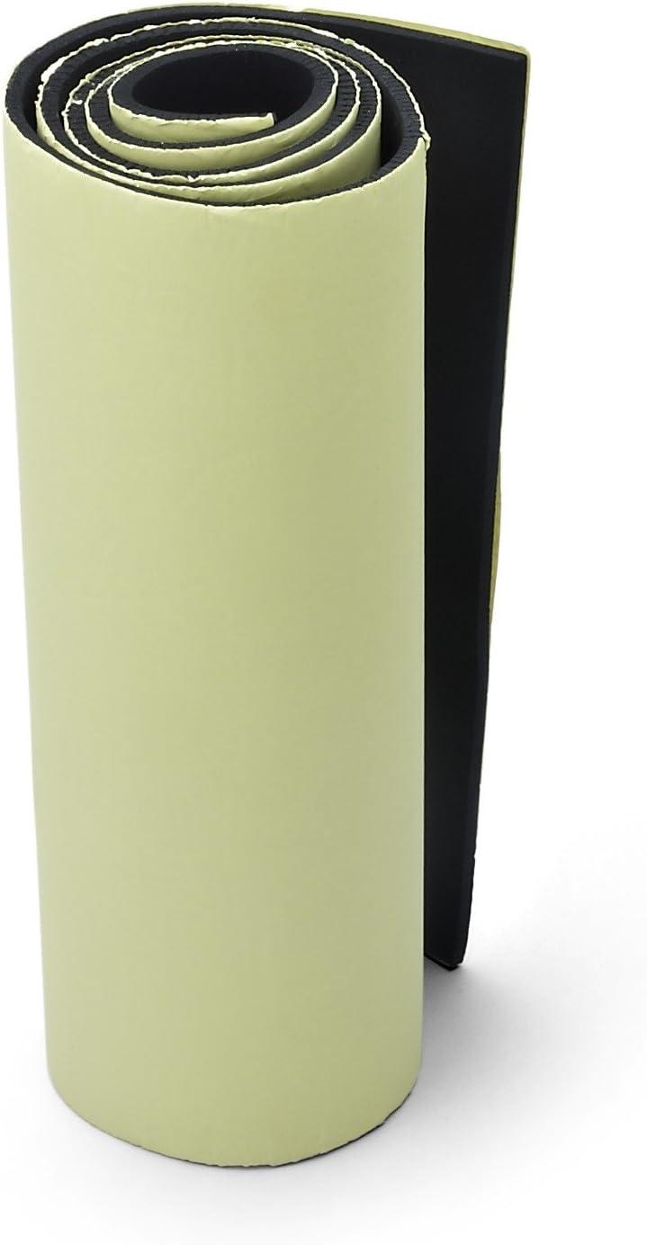 mit selbstklebender Unterseite 1//8 dick x 14 breit x 58 lang f/ür Mehrzweckanwendung Primode Neoprenrolle