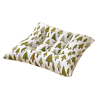 Voberry Soft Home Office Square Cotton Polka Dot Seat Cushion Buttocks Chair Cushion Pads (Multicolor N): Home & Kitchen