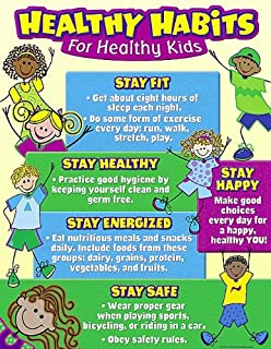 Teacher Created Resources Healthy Habits For Kids Chart 7736