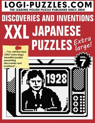 Japanese Number Puzzles - XXL Japanese Puzzles: Discoveries and Inventions