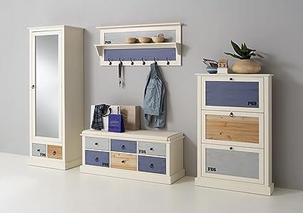 Dreams4Home Baju - Juego de muebles de recibidor (zapatero ...