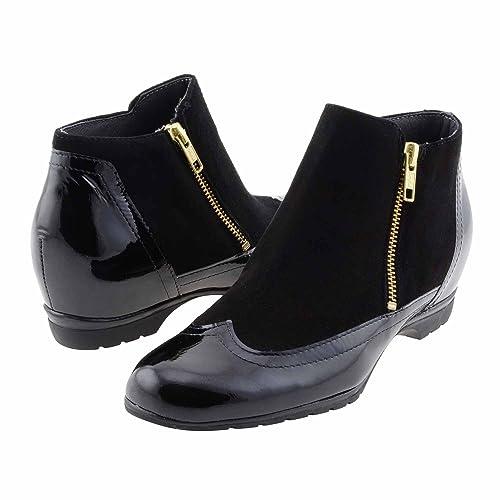 mejor valor c91a6 6257b Botines cuña Interior Piel: Amazon.es: Zapatos y complementos