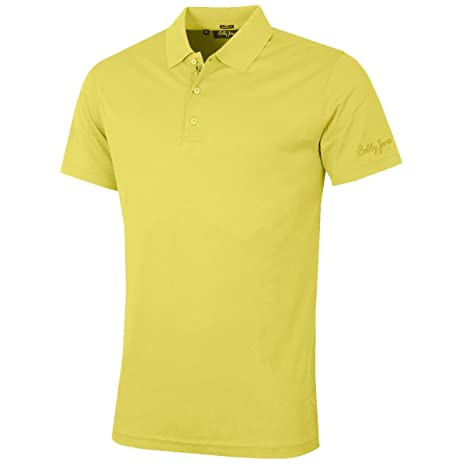 af0d35c79d69 Amazon.com: Bobby Jones Solid Supreme Cotton Golf Polo 2016 Mimosa ...