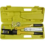 Z ZTDM Wire Lug Terminal Pliers Crimper Cable crimping Machine Tool Kit (10T)