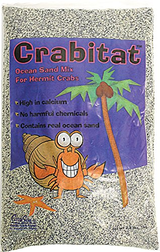 CaribSea Aquatics SCS00603 Crabitat Hermit Crab Sand, 2.2-Pound, Black by Carib Sea
