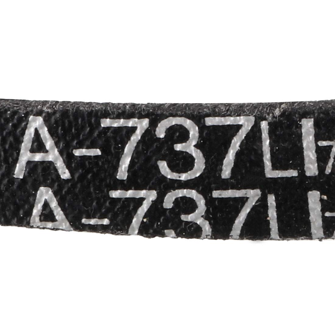 uxcell/® A-965 A38 V Belt Machine Transmission Rubber Replacement Drive Belt Black