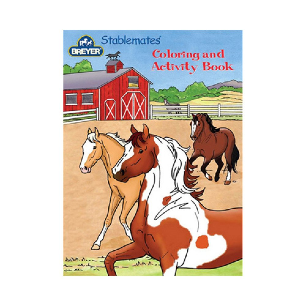 Breyer Stablemates Coloring & Activity Book Reeves 4160