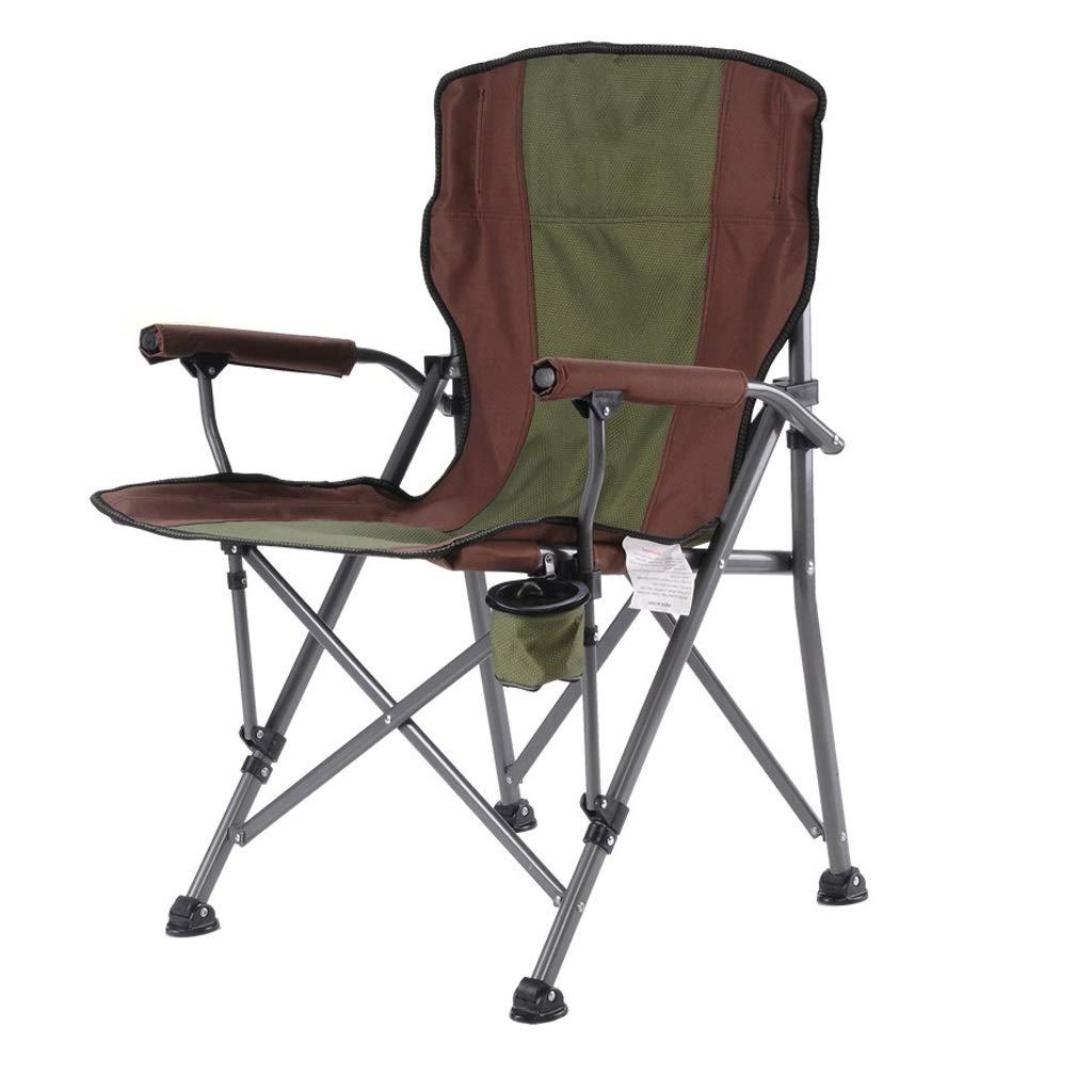 HYXI-Klappstuhl Klappstuhl, Sessel, Portable Outdoor Hiker Strand Angeln Camping Skizze Freizeit Sitz/Maximale Belastung 115KG