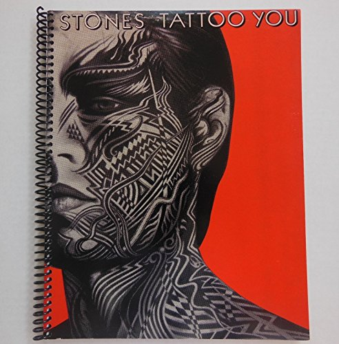 Amazon Com Rolling Stones 75 Page Spiral Notebook Tattoo You