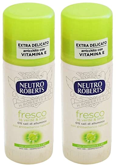 "Neutro Roberts: ""Fresco"" Deodorant with Green Tea and Lime * 1.35 Fluid"