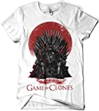 Camisetas La Colmena, 035-Star Wars - Game of Thrones - Game of Clones