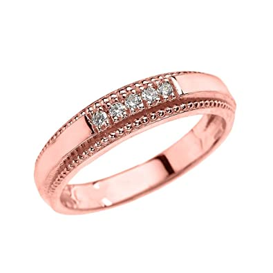 rose band tw diamonds pd gold s ct kay mv with en bands men mens wedding kaystore