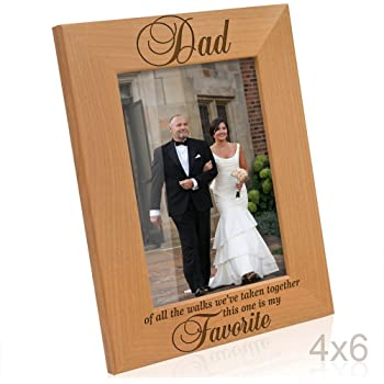Amazon Com 5x7 Hinged To My Father On My Wedding Day