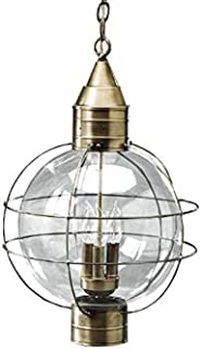 product image for Brass Traditions 602-3-VG Extra Large Hanging Onion Lantern Three Light, Verde green Finish Three Light Extra Hanging Onion Lantern
