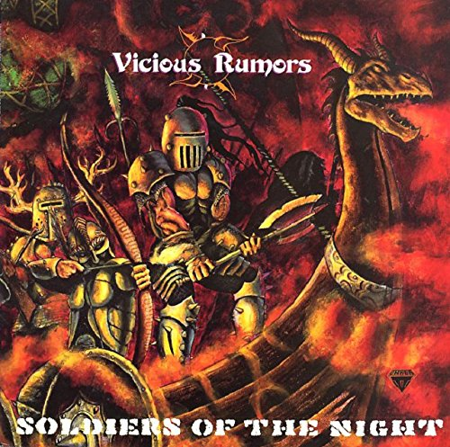 CD : Vicious Rumors - Soldiers Of The Night (Digipack Packaging)
