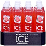 Sparkling Ice Strawberry Watermelon, 17 Ounce Bottles (Pack of 12)