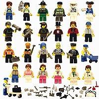 Set of 30 Amazing Unique Figures + 40 Accessories, Lego...