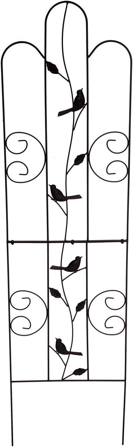 "1. GO Metal Garden Trellis Panel Arch for Climbing Plants, 16"" Wide x 60"" High, OG-0032KD"