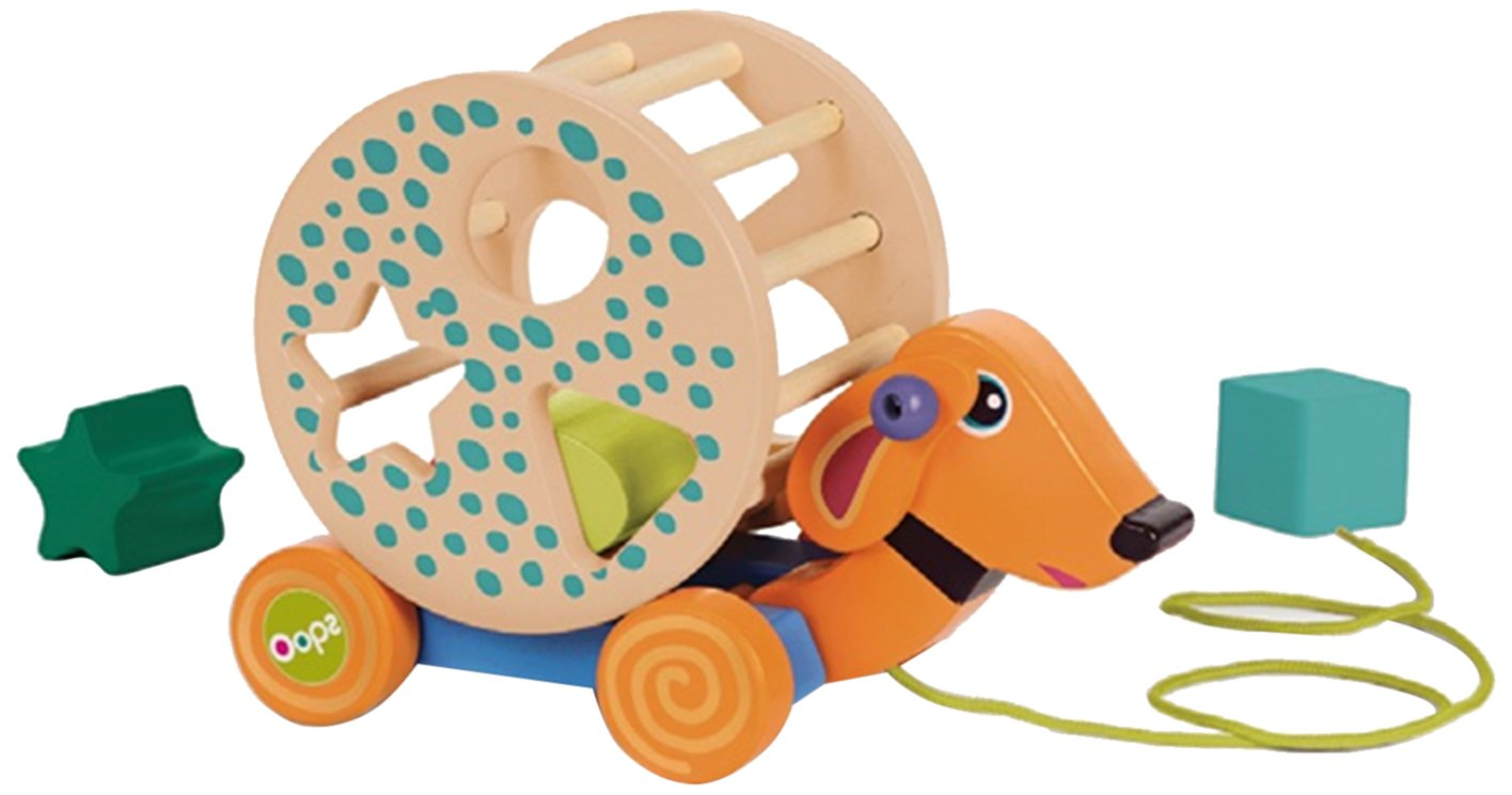 Oops Rolling Friend Wooden Activity Toy