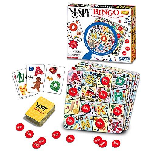 大学ゲームI Spy Bingo (セットof 3)の商品画像