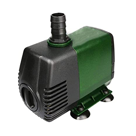 LIFUREN Filtro de pecera Bomba Sumergible Mudo Lazo Bomba de Agua Mini Pequeño Bomba Elevación Alta Ultra silencioso Ahorro de energia Durable (Tamaño ...