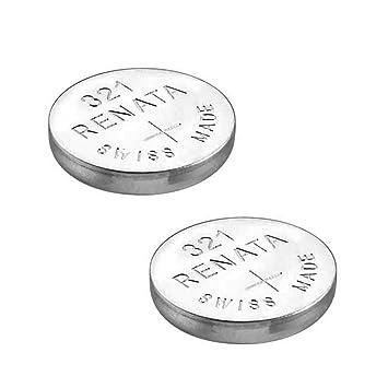 2 x Renata - 321 (SR616SW) - Pila de Botón para reloj de muñeca: Amazon.es: Electrónica