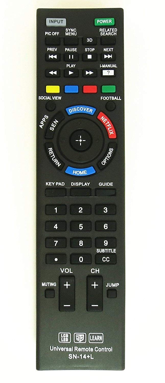 New Nettech Universal Remote Control for All Sony Brand TV, Smart TV - 1 Year Warran-ty(SN-14AL) by Nettech